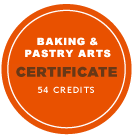 Baking and Pastry Arts Certificate