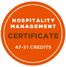 Hospitality Management Certificate